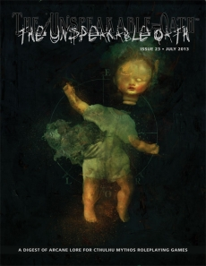 The Unspeakable Oath 23