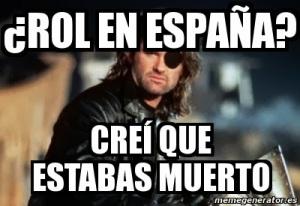 Rol en España