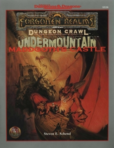 Undermountain Maddgoths Castle