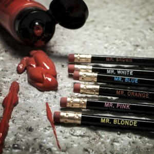 Reservoir Dog Pencil Set