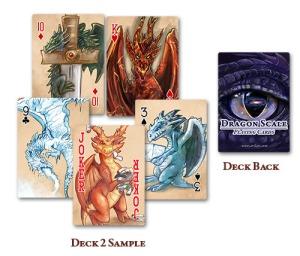 Dragones Card