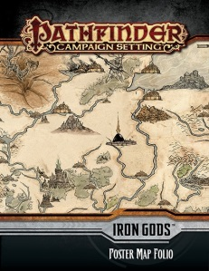 Iron Gods Poster Map Folio